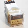 เครื่องตั้งเวลาสลับเปิด-ปิด 12V ( 0.1 วินาที - 99 ชั่วโมง ) ยี่ห้อ Berme รุ่น DH48S-S