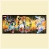 Yu-Gi-Oh TCG Standard Edition : Yugi Muto, Dark Magician & Dark Magician Girl Playmat (Gold Series)