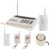 สัญญาณกันขโมยบ้าน Intelligent Alarm System แบบใช้สายโทรศัพท์พื้นฐาน