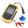 อุปกรณ์ค้นหาปลา จอ 2 นิ้ว ขาวดำ อ่านความลึกประมาณ 2.0 - 328 ฟุต (0.6-100 เมตร)