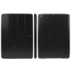 Multi-folding Crazy Horse Case for iPad Air (Black)