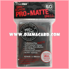 Ultra•Pro Pro-Matte Small Deck Protector Sleeve - Black 60ct.