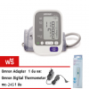 OMRON เครื่องวัดความดัน รุ่น HEM-7130 (60 Memory รับประกัน 3 ปี พร้อม Adapter) **แถมฟรี ปรอท Digital MC-245**