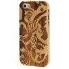 Case เคส Gearwheel Woodcarving iPhone 5
