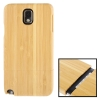 Detachable Bamboo Material Case เคส Samsung Galaxy Note 3 (III) / N9000 ซัมซุง กาแล็คซี่ โน๊ต 3
