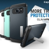 Spigen : Slim Armor Case Slim Rounded Edge+Built-In Stand For Samsung Galaxy S6 Edge