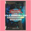Yu-Gi-Oh! Shunen Jump TCG Duelist Card Protector / Sleeve - World Championship Qualifier Blue 2012 [Used] x1