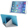 Multi-folding Cloth for iPad Air (Blue)