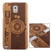 Woodcarving Camera Pattern Myrtus Material Case เคส Samsung Galaxy Note 3 (III) N9000 ซัมซุง กาแล็คซี่ โน๊ต 3 v2