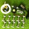 SAVE SET 10 ชุดพ่นหมอก 8 ชุดหัวพ่นหมอกเนต้าฟิล์ม 0.6 mm. 4 ทิศทาง + สายพ่นหมอก 30 เมตร ( ใช้ได้ทั้งแบตเตอรี่และไฟบ้าน 220 โวลต์ )