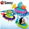 Sassy Pull & Go Boat - เรือปั่นลอยน้ำ