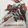 Red Inspection Metal Build 00 seven sword OO Raiser GN 0000