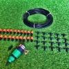 ชุดพ่นหมอกหัวเดี่ยว 20 หัว สายยาว 10 เมตร (สีดำ)