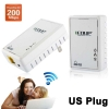 EDUP 200Mbps Powerline Mini Bridge EP-PLC5513 (White)