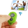 remote shutter (Bluetooth ลั่นชัตเตอร์) for iPhone 5 & 5C & 5S / iPad 3 / iPad 2 / iPad mini / iPad mini with Retina Display / Samsung Galaxy S3 / S4 / Note 3 / Moto X / Nexus 4 (Green)