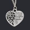 Mother and Daughter Forever Love Necklace สร้อยคอรักแม่ สลักข้อความดีๆ ใส่แล้วคิดถึงแม่จุงเบย