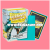 Dragon Shield Standard Size Card Sleeves - Turquoise • Classic 100ct.