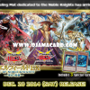 "Yu-Gi-Oh! ARC-V Playmat / Duel Field - Noble Knights of the Round Table Box Set: ""Noble Knight"" monsters and ""Merlin"" (EX Epic of Noble Knights: Holy Sword of Guidance) + 3 Promo Cards"