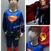 Superman (งานลิขสิทธิ์) แบบใหม่ ชุดแฟนซีเด็กซุปเปอร์แมน มีไฟ 2 ชิ้น เสื้อพร้อมผ้าคลุม และกางเกง คุณหนูๆ ได้ใส่ตามจิตนาการ ผ้ามัน Polyester ใส่สบายค่ะ หรือจะใส่เป็นชุดนอนก็ได้ค่ะ size XL