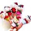 TO-005 ตุ๊กตานิ้วมือ ครอบครัวคริสมาส (6 ตัว)