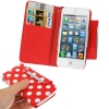 Case เคส Dot Pattern iPhone 5 (Red)