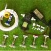 SAVE SET 9 ชุดพ่นหมอก 5 ชุดหัวพ่นหมอกเนต้าฟิล์ม 0.6 mm. 4 ทิศทาง + สายพ่นหมอก 20 เมตร ( ใช้ได้ทั้งแบตเตอรี่และไฟบ้าน 220 โวลต์ )