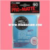 Ultra•Pro Pro-Matte Small Deck Protector / Sleeve - Light Blue 60ct.