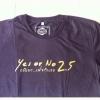 เสื้อ ภ. Yes or no 2.5 Size XL
