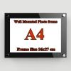 A4 กรอบรูปอะครีลิค ติดผนัง (สีพิเศษ) Acrylic Wall Mounted Photo Frame - Special Color สำเนา