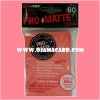 Ultra•Pro Pro-Matte Small Deck Protector / Sleeve - Peach 60ct.
