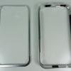 Aluminum Bumper (Silver) แบบมีปุ่มaluminum samsung galaxy note2
