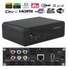1080P Full HD สนับสนุน WIFI 802.11N (Realtek1073 Chip ) hdd media player