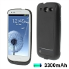 3300mAh Portable Power Bank Samsung Galaxy S 3 III (Black)