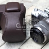 Leather Camera Case for Sony NEX5N