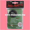 Ultra•Pro Pro-Matte Standard Deck Protector / Sleeve - Green 50ct.