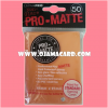 Ultra•Pro Pro-Matte Standard Deck Protector / Sleeve - Orange 50ct.