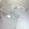 60x60x60 ซม. (24 นิ้ว) กล่องรับบริจาค [***สั่งผลิต] กล่องรับความคิดเห็น กล่องรับทิป [Tip Box | Donate Box | Suggestion Box]