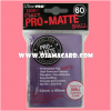 Ultra•Pro Pro-Matte Small Deck Protector / Sleeve - Purple 60ct.