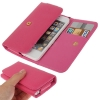 Case เคส Litchi iPhone 5 (Magenta)