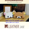 Rilakkuma : (Original) Diary Leather Case Cover For Galaxy A8