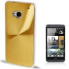 CD Texture Metal HTC One (M7) (Golden)