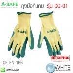 ถุงมือกันคม รุ่น CG-01 (Cut Resistant Gloves)