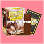 Dragon Shield Standard Size Card Sleeves - Brown • Classic 100ct.