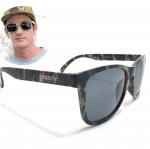 แว่นกันแดด Glassy Sunhaters Deric Camo 54-18 140 <Army>