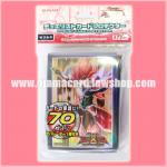 Yu-Gi-Oh! ZEXAL OCG Duelist Card Protector / Sleeve - Yuma Tsukumo in ZEXAL II mode 70ct.