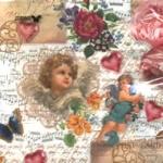 กระดาษแนปกิ้น กระดาษเดคูพาจ Angel 72-9318-25