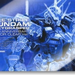 Aile Strike Gundam + Skygrasper 30th Anniversary Color Clear Ver. (PG)