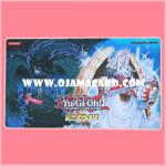 Yu-Gi-Oh! TCG Sneak Peek Playmat / Duel Field - Adreus, Keeper of Armageddon & Tiras, Keeper of Genesis (WCQ 2011) 95%
