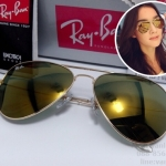 RB 3025 AVIATOR LARGE METAL W3276 58-14 3N < ปรอททอง >