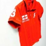 Polo Ralph lauren----เสื้อโปโลแดง ปัก ENGLAND เนื้อดี นิ่มค่ะ size 3, 4, 5, 6